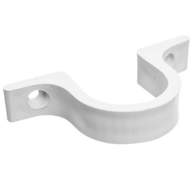 Grampa omega 50 mm PVC para tubo