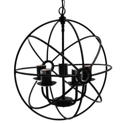 Lámpara colgante de hierro Átomo E27