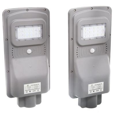 Foco LED Vial solar 10 w