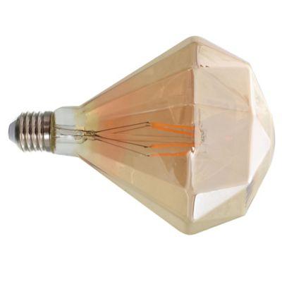 Lamparita de filamento LED Diamante de 4 w E27