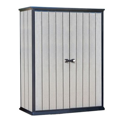 Armario doble puerta High STR gris