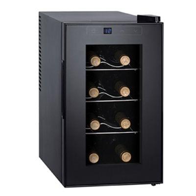 Enfriador de vinos 8 botellas negro