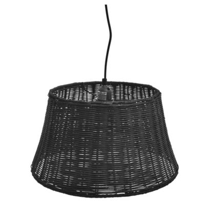 Lámpara colgante Ratán Dark Coffe 40 cm 1 luz E27