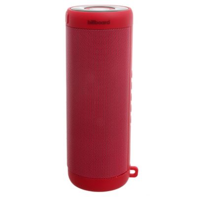 Parlante bluetooth rojo IPX5