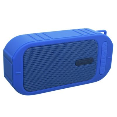 Parlante micro bluetooth azul
