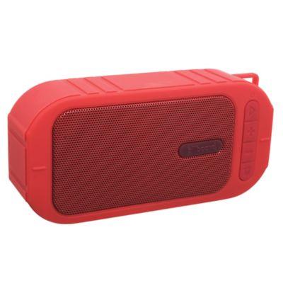 Parlante micro bluetooth rojo