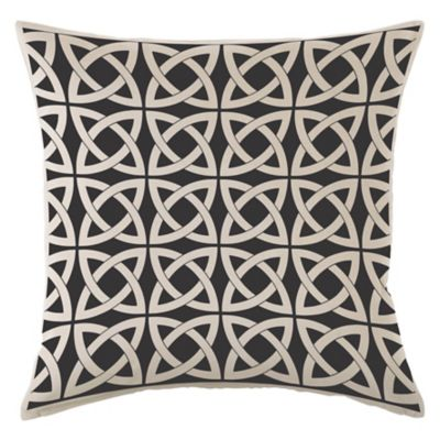 Almohadón decorativo panamá infinit negro 40 x 40 cm