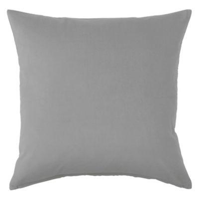 Almohadón decorativo 40 x 40 cm gris oscuro