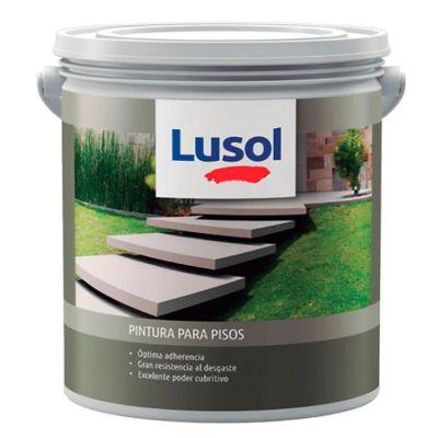 Pintura acrílica para pisos exterior e interior gris ceniza 4 L