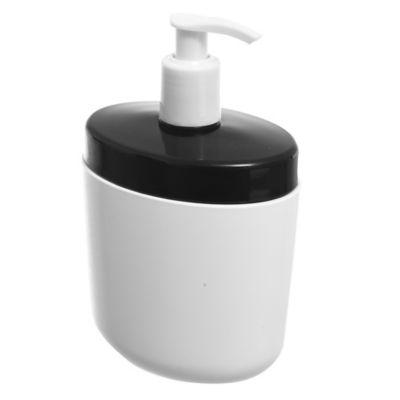 Dispensador de jabón Full negro
