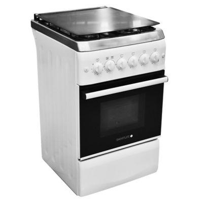 Cocina a gas SL-KW5060G 50 cm 4 hornallas blanca
