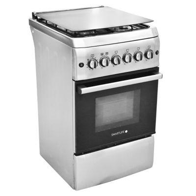 Cocina a gas SL-KS5060G 50 cm 4 hornallas plateada