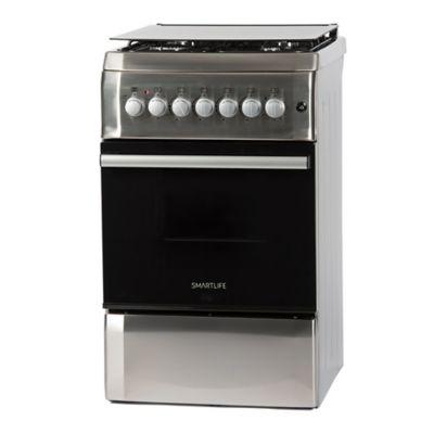 Cocina combinada SL-KS5060C 50 cm 4 hornallas plateada