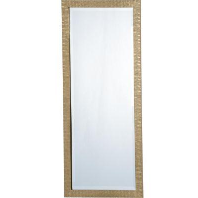 Espejo Lux dorado 50 x 120 cm