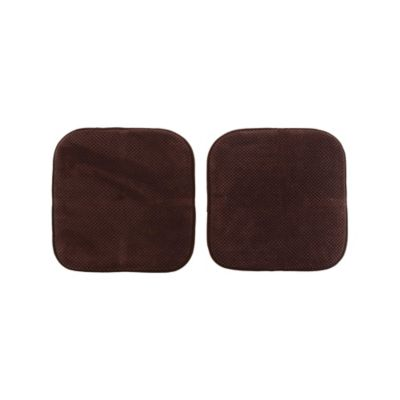 Pack de 2 almohadones para sillas Memory 40 x 40 cm chocolate