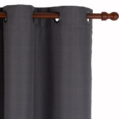 Cortina de tela Black Out texturada 200 x 220 cm gris