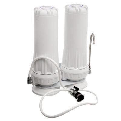 Purificador doble Carbón Activado + Polipropileno Blanco