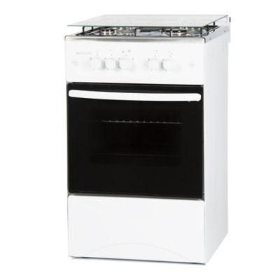 Cocina a gas SL-KW5050G 50 cm 4 hornallas blanca