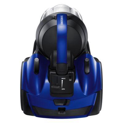Aspiradora azul y negra 2100 w