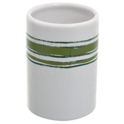 Vaso raya verde
