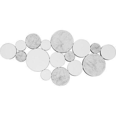 Espejo Massa redondo gris 59 x 120 cm