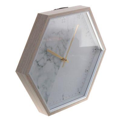 Reloj de pared vinola 37 x 32 cm