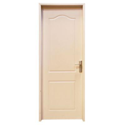Puerta de interior MDF 76 X 204 cm blanca derecha