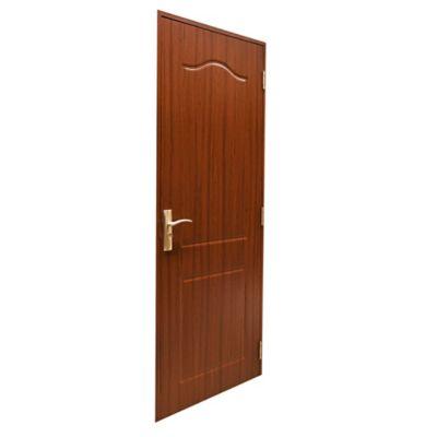 Puerta de interior MDF 76 X 204 cm marrón izquierda