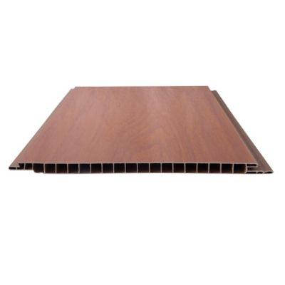 Cielo raso PVC marrón 595 x 218 x 10 mm
