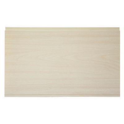 Cielo raso PVC beige 595 x 218 x 10 mm