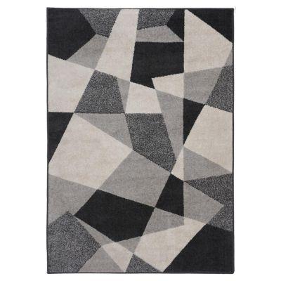 Alfombra Lotto blocks gris 133 x 190 cm