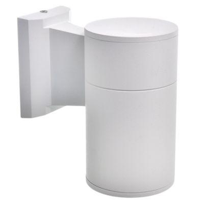 Aplique exterior cilindro unidireccional blanco E27