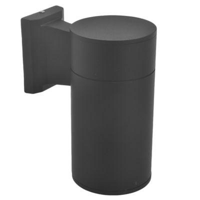 Aplique exterior cilindro unidireccional negro E27