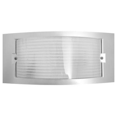 Aplique exterior difusor transparente E27