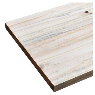"Tablero de pino com 1"" x 0.30 x 2.40 metros"