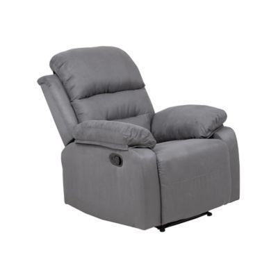 Sillón reclinable gris