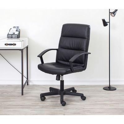 Silla de oficina Michelin negra
