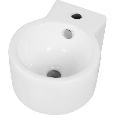 Bacha colgante loza blanca 34 x 27 x 15.5 cm
