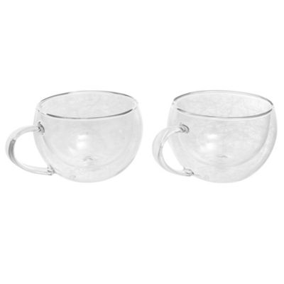 Pack de 2 tazas doble pared 200 ml