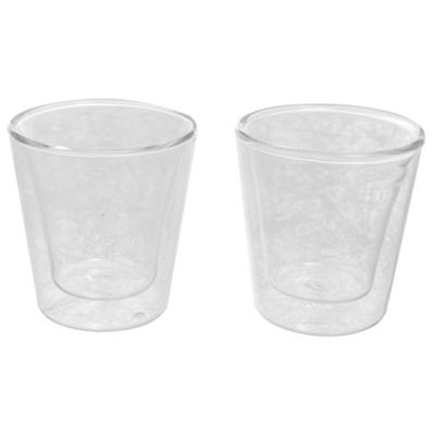 Pack de 2 vasos doble pared 100 ml