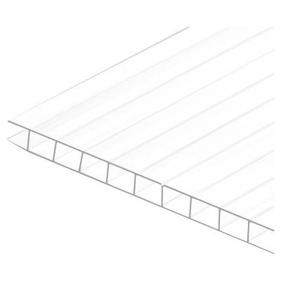 Policarbonato alveolar 6 mm x 1.05 x 2.90 m opalizado