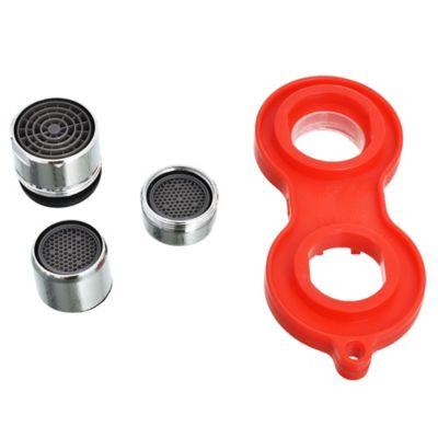 Set 3 aireadores y llave metal