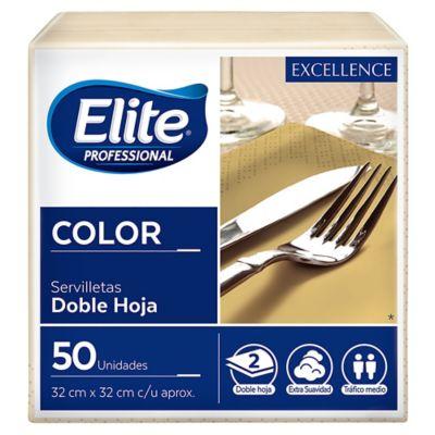 Pack de 50 servilletas crema