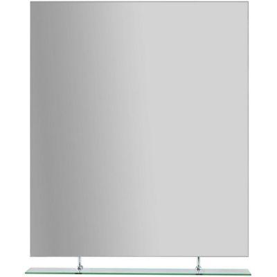 Espejo de baño con 1 repisa 100 x 80 cm
