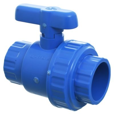 Válvula con doble U 50 mm PVC presión