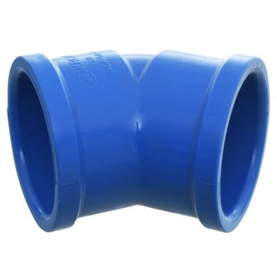 Codo 45° 50 mm PVC presión