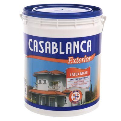 Látex Casablanca exterior 4 L