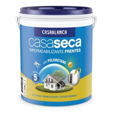 Impermeabilizante Casaseca poliuretánico blanco 5 kg