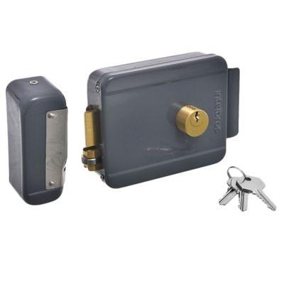 Cerrojo eléctrico con llave 12 v