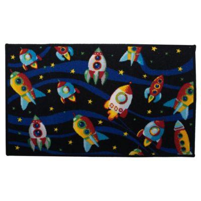 Alfombra infantil Rockets 50 x 80 cm
